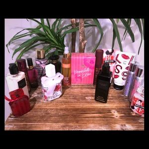 16 Victoria secret scented items NEW sprays lotion